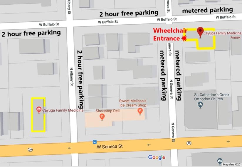 Google Map: CFM Annex
